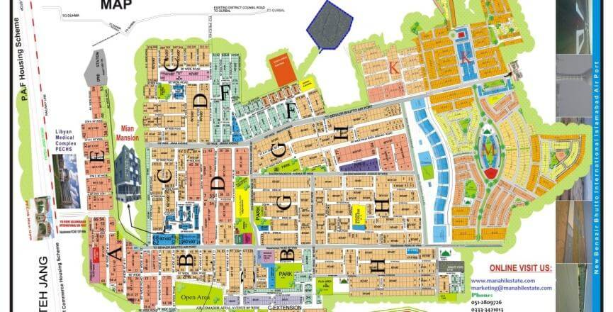 PECHS Society Islamabad Master plan