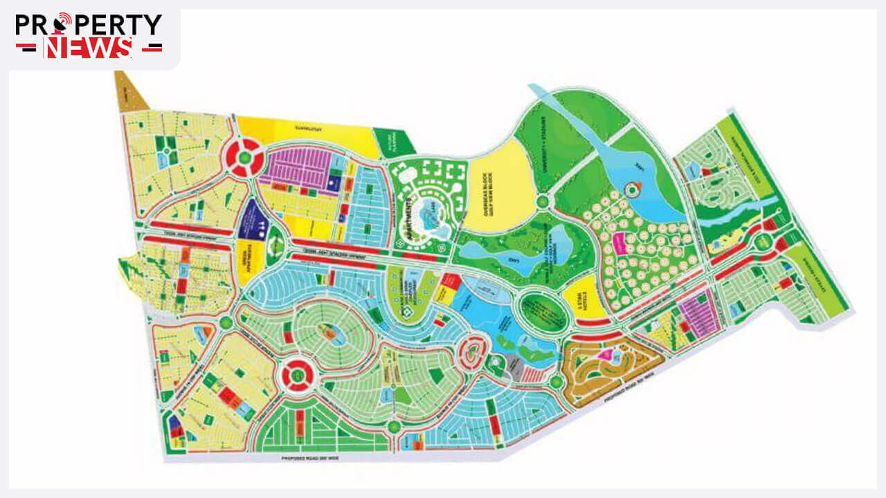 Master Plan of Bahria Town Karachi