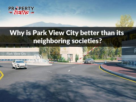 Why is Park View City better than its neighboring societies?