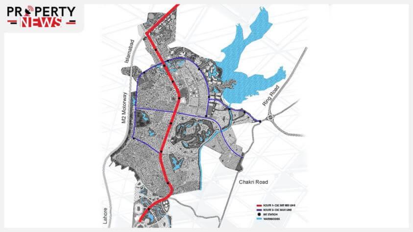 Capital Smart City BRT Map