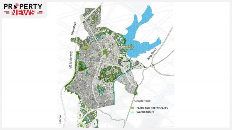 Capital Smart City Overseas Block Map