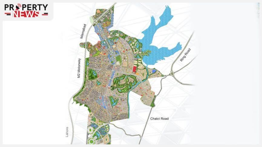 Capital Smart City Overseas Block Location