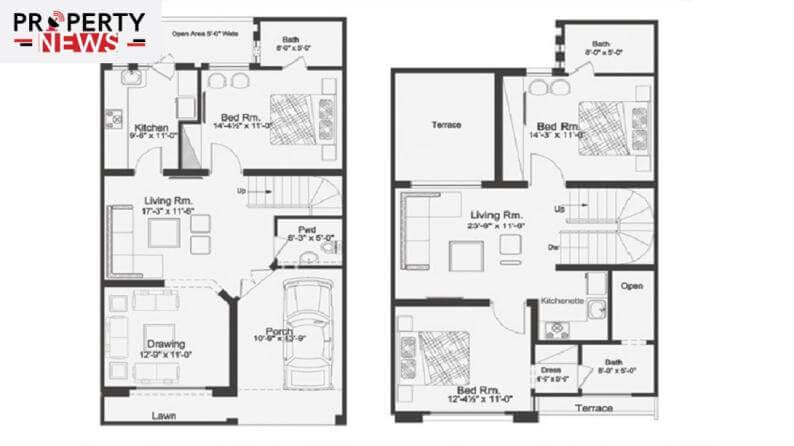 Capital Smart City Villas Layout