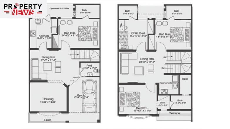 Capital Smart City Georgian Villas Layout