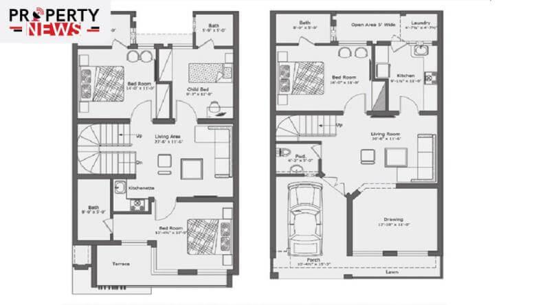 Capital Smart City Contemporary Villas Layout