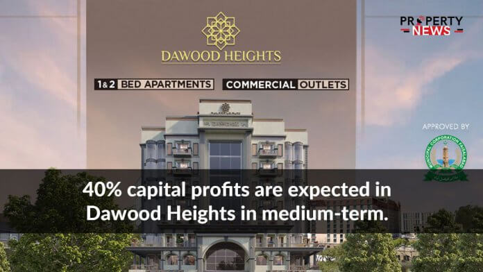 40% capital profits are expected in Dawood Heights in medium-term.