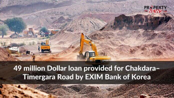 49 million Dollar loan provided for Chakdara–Timergara Road by EXIM Bank of Korea