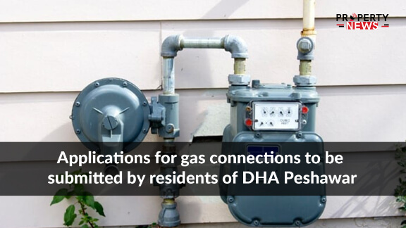 Applications for gas connections to be submitted by residents of DHA Peshawar