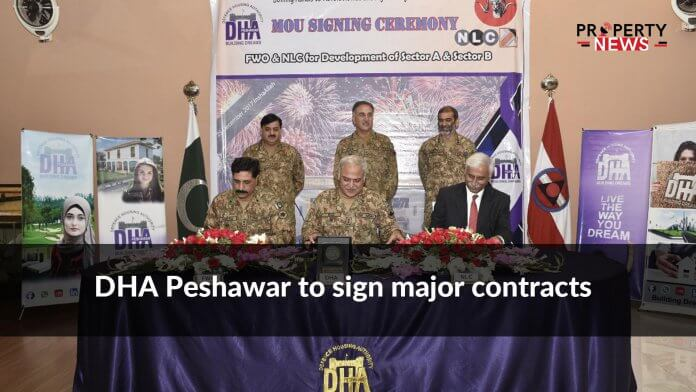 DHA Peshawar to sign major contracts