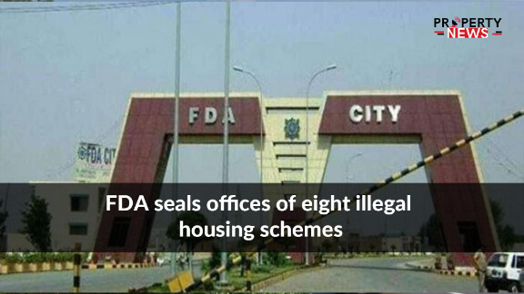 FDA seals offices of eight illegal housing schemes
