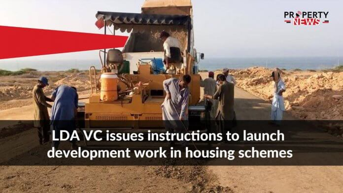 LDA VC issues instructions to launch development work in housing schemes