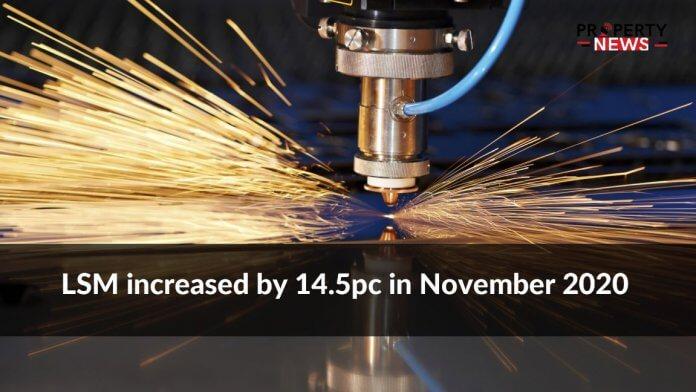 LSM increased by 14.5pc in November 2020
