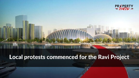 Local protests commenced for the Ravi Project