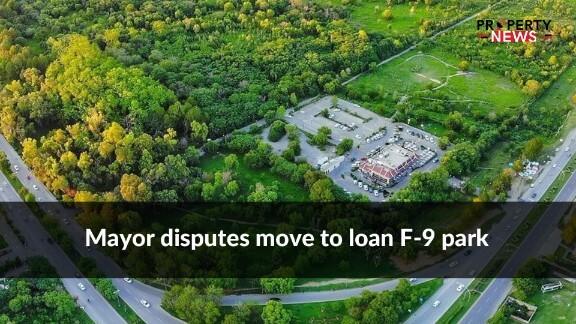 Mayor disputes move to loan F-9 park