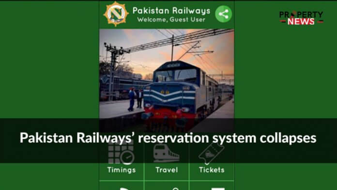 Pakistan Railways' reservation system collapses