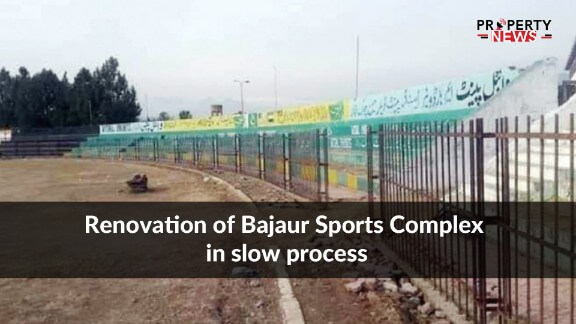 Renovation of Bajaur Sports Complex in slow process