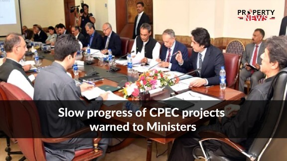 Slow progress of CPEC projects warned to Ministers