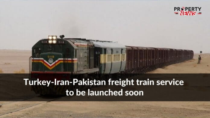 Turkey-Iran-Pakistan freight train service to be launched soon