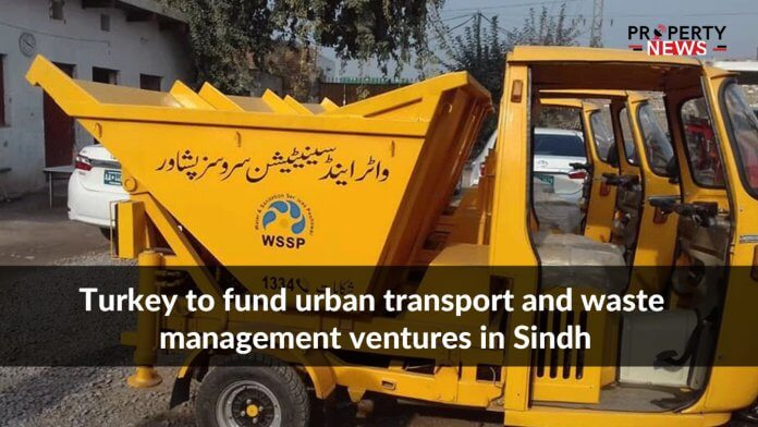 Turkey to fund urban transport and waste management ventures in Sindh