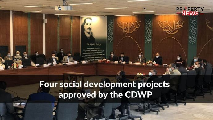 four social development projects approved by the CDWP