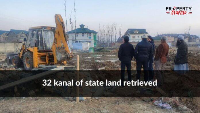 32 kanal of state land retrieved
