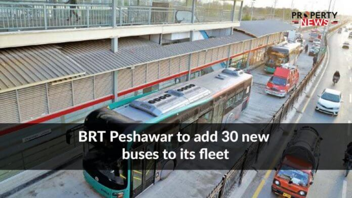 BRT Peshawar to add 30 new buses to its fleet