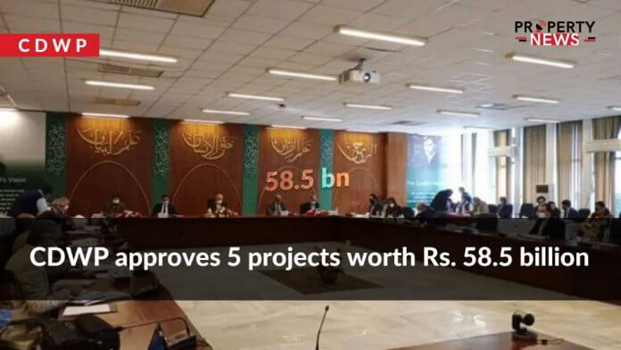 CDWP approves 5 projects worth Rs. 58.5 billion