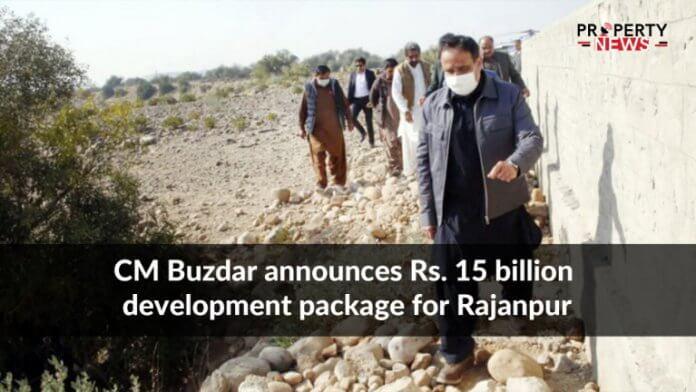CM Buzdar announces Rs. 15 billion development package for Rajanpur