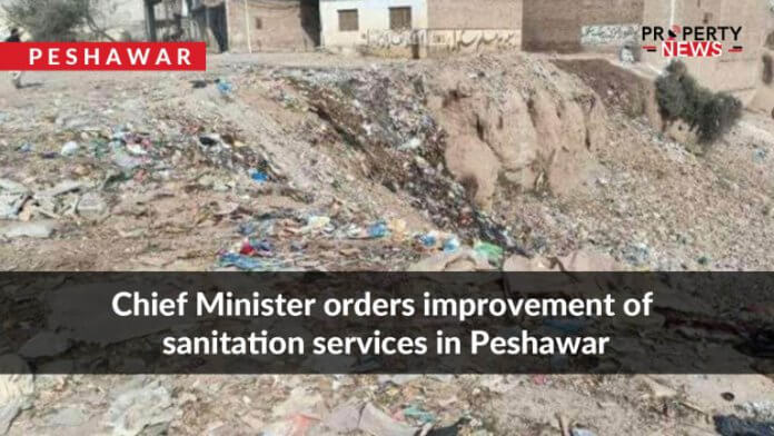 Chief Minister orders improvement of sanitation services in Peshawar