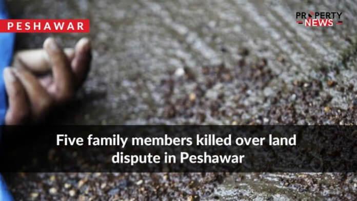 Five family members killed over land dispute in Peshawar