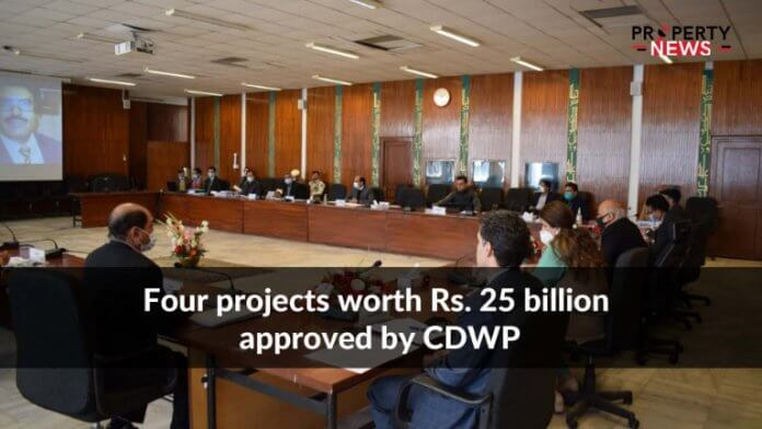 Four projects worth Rs. 25 billion approved by CDWP