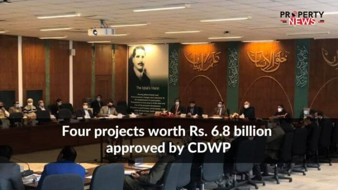 Four projects worth Rs. 6.8 billion approved by CDWP