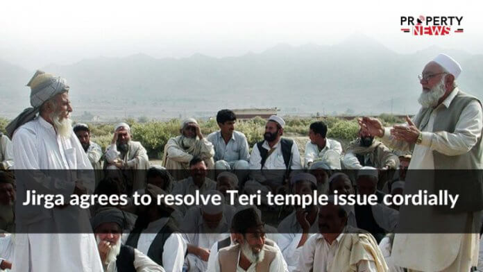 Jirga agrees to resolve Teri temple issue cordially