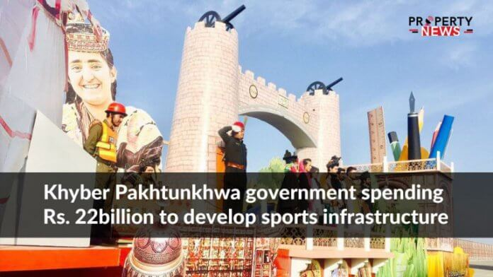 Khyber Pakhtunkhwa government spending Rs. 22billion to develop sports infrastructure