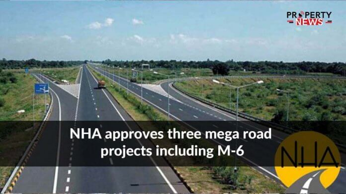 NHA approves three mega road projects including M-6