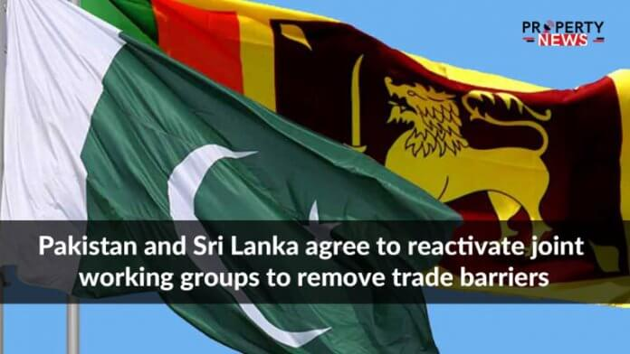 Pakistan and Sri Lanka agree to reactivate joint working groups to remove trade barriers