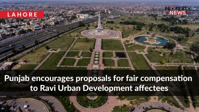 Punjab encourages proposals for fair compensation to Ravi Urban Development affectees