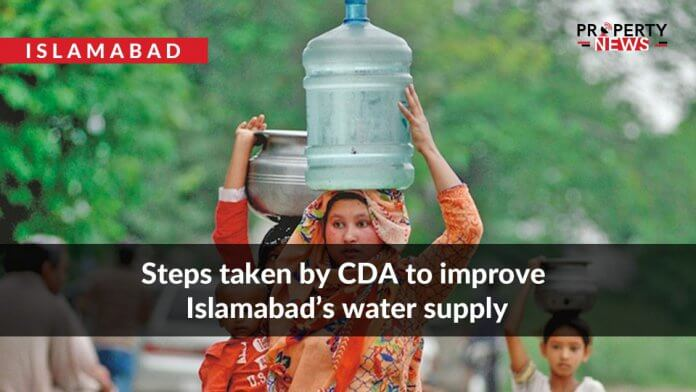 Steps taken by CDA to improve Islamabad's water supply