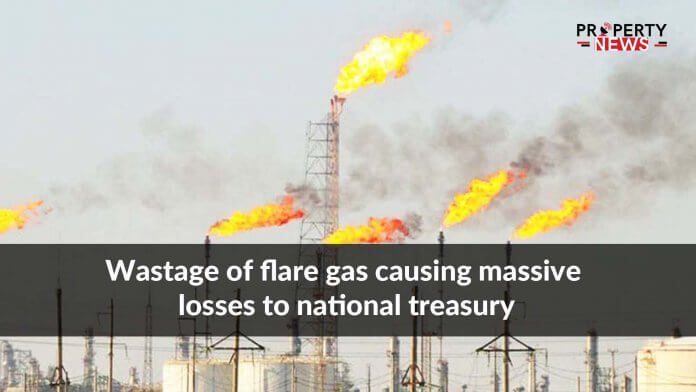 Wastage of flare gas causing massive losses to national treasury