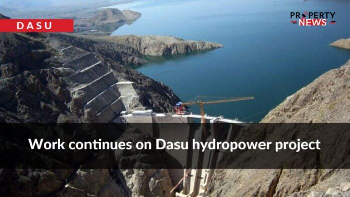 Work continues on Dasu hydropower project