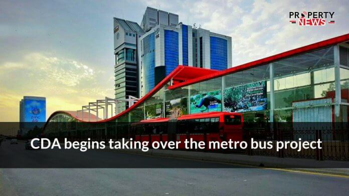 CDA begins taking over the metro bus project