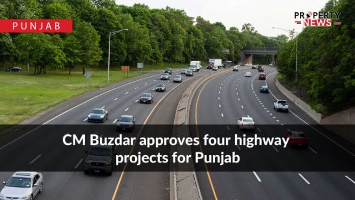 CM Buzdar approves four highway projects for Punjab