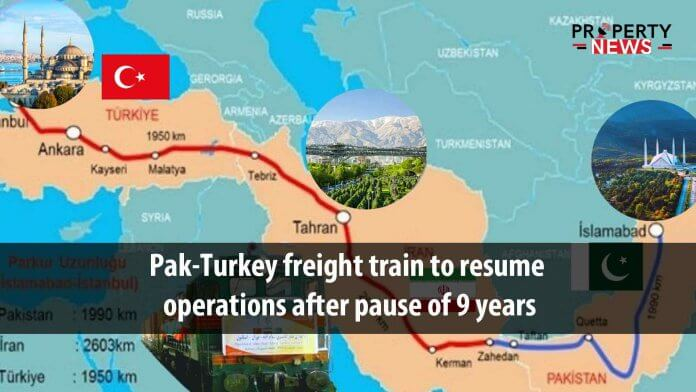 Pak-Turkey freight train to resume operations after pause of 9 years