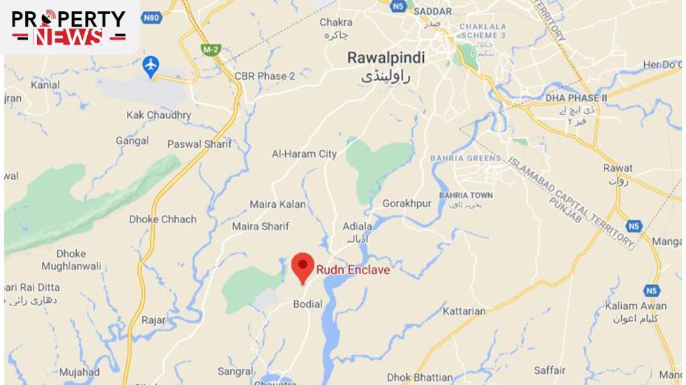 Rudn Enclave Rawalpindi Location