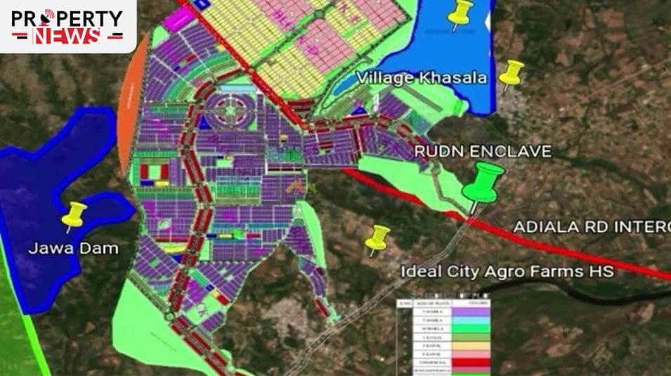 Rudn Enclave Rawalpindi Masterplan