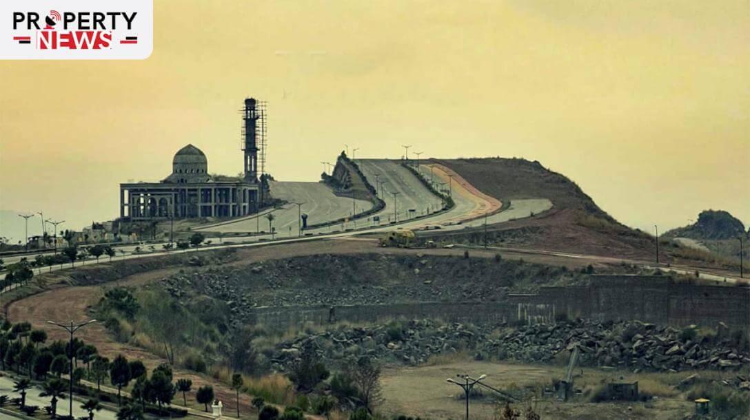 Development Work at Bahria Hills