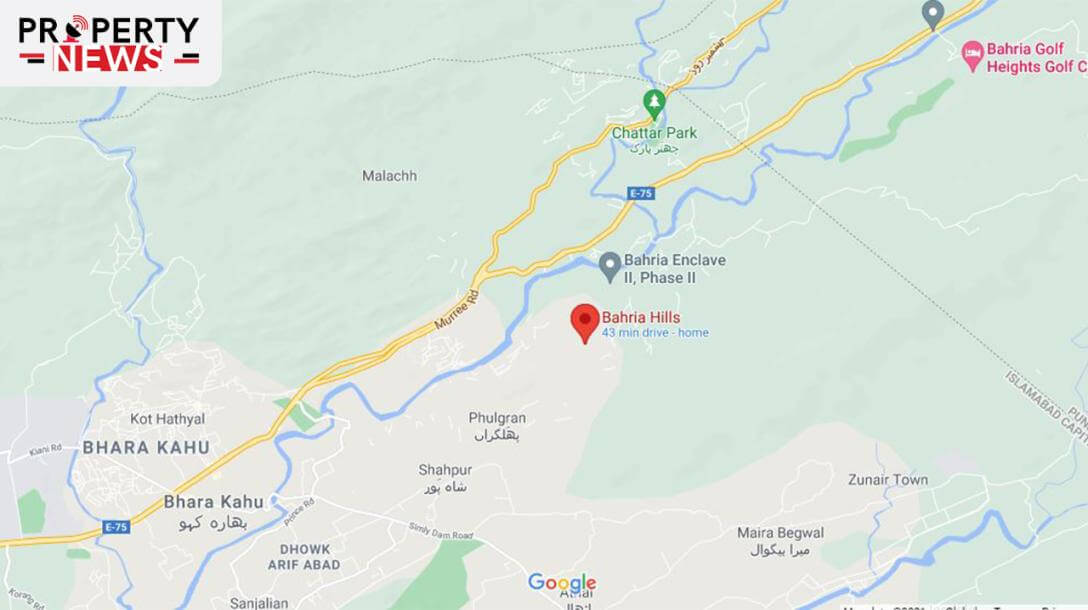 Bahria Hills Islamabad Location