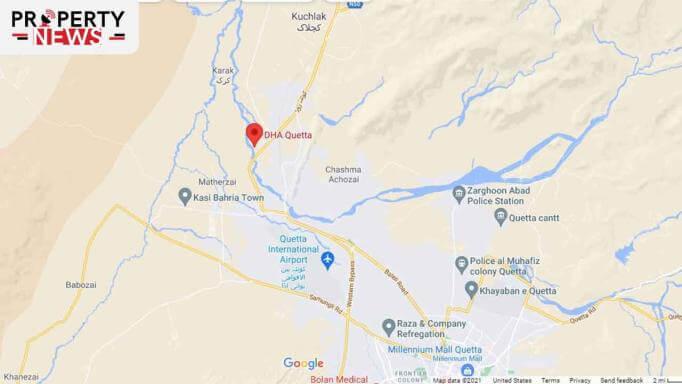DHA Quetta Location