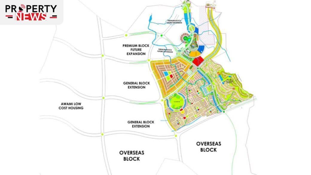 Blue World City Islamabad Masterplan