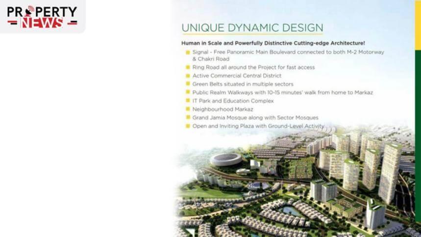 Mivida City Islamabad Salient Features